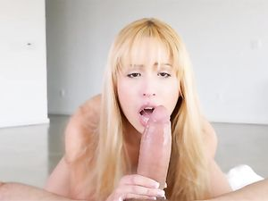 Cute Teenage Slut Sucks The Fat Cock That Fucks Her