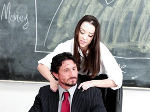 Schoolgirl Knows The Teacher Wants To Fuck Her