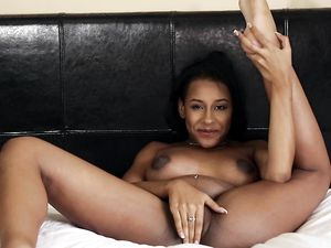 Young And Horny Black Girl Fucking A White Guy