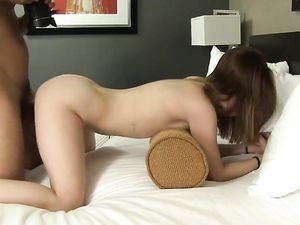 Teenage Temptress Fucked In Her Stick Young Pussy