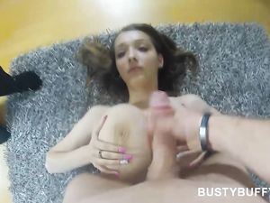 Fucking A Huge Pair Of All Natural Titties