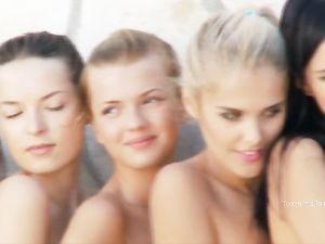 Perfect Naked Babes Pose For A Sexy Photo Shoot