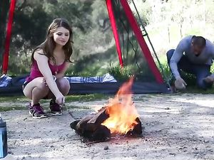 Sex On A Camping Trip With A Beautiful Teenager