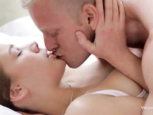 Erotic Missionary Fucking Of His Beautiful Girlfriend