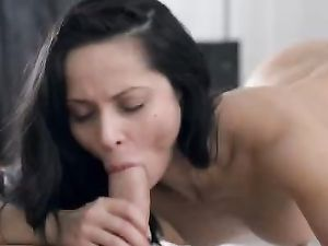 Passionate Young Beauty Makes Love To Her Man