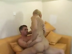 Girlfriend On Her Back For Beautiful Hardcore Sex