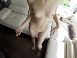 His Cock Is Hard For Her Tight Shaved Teen Pussy