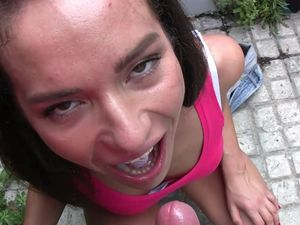 Sexy Close Up POV Fucking With A Panty Girl