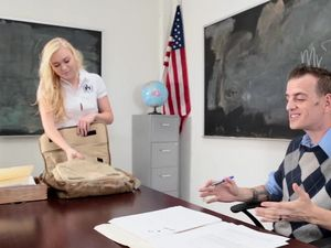 Schoolgirl Teen And Her Teacher Fucking Hardcore