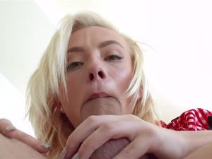 Adorable Costume Slut Maddy Rose Gets A Facial