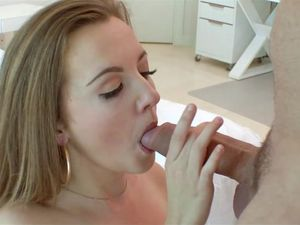 Tiny Marissa Mae Makes His Big Cock Cum Hard