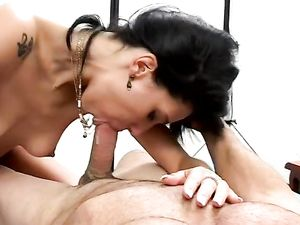 Two Long Dongs For A Lusty Latina Princess