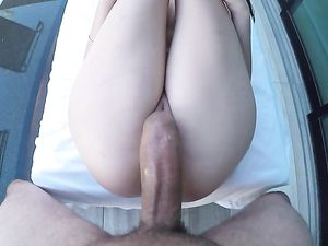 POV Blowjob And Cunt Filling For A Cute Babe